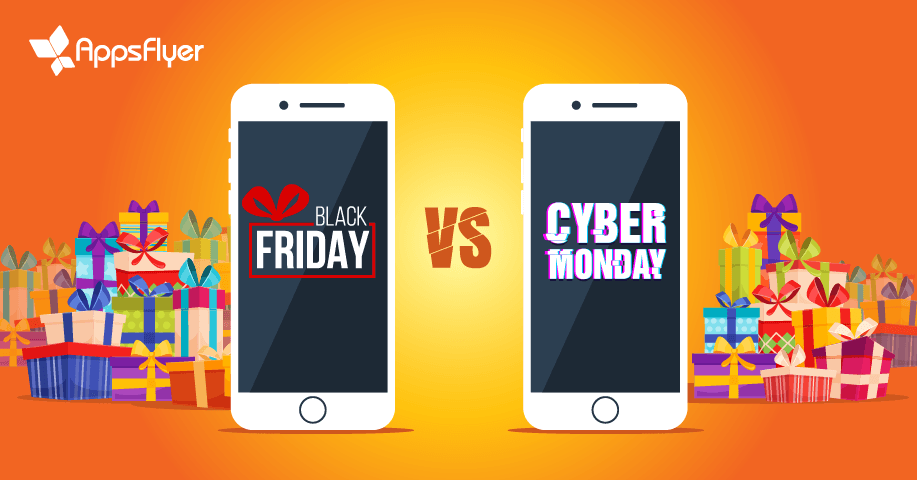 In App Shopping Black Friday Vs Cyber Monday Appsflyer