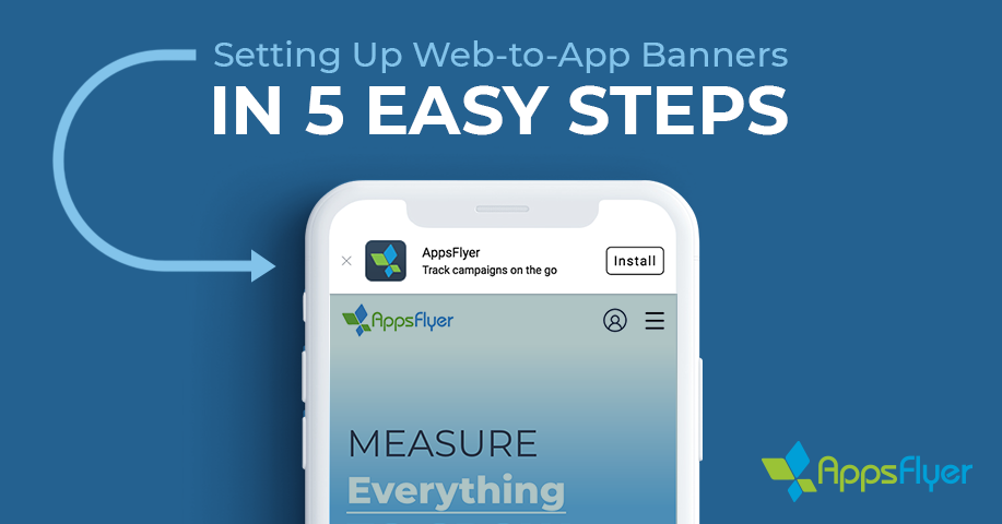 Configure a web-to-app banner in 5 easy steps