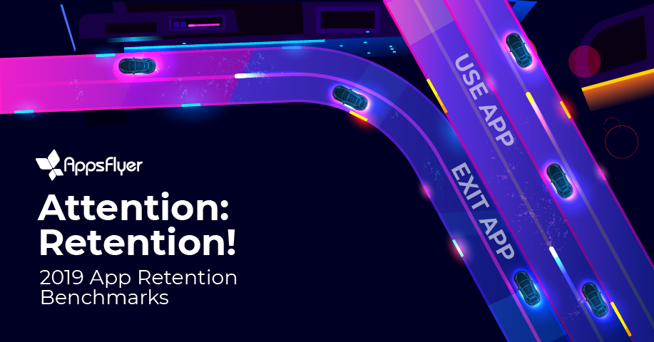 app retention benchmarks 2019