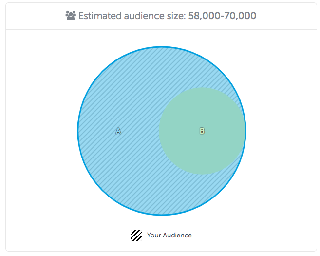 AppsFlyer's Audiences Venn DIagram