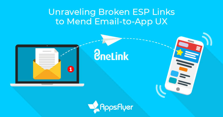 AppsFlyer provides advanced deep linking for ESPs