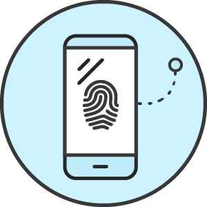 Attribution Fingerprint icon