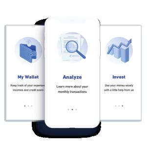 finance app onboarding