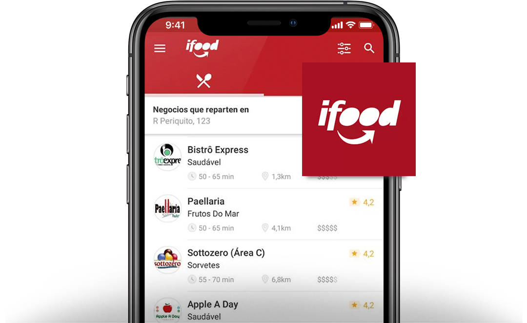 iFood AppsFlyer case study - QSR apps