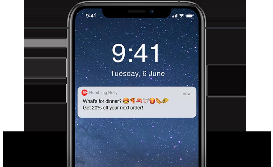 push notifications QSR apps - AppsFlyer