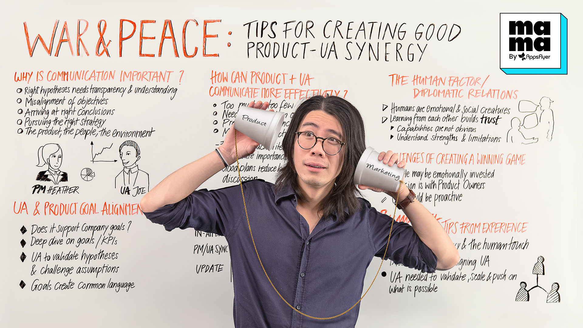 best practices for creating good Product-UA communication