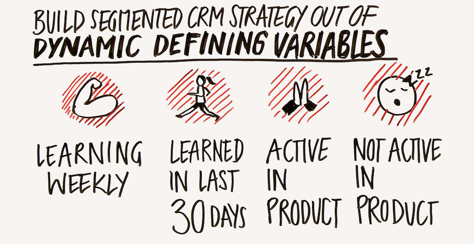 build segmented a CRM strategy out of dynamic variables