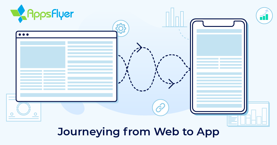 appsflyer web to app attribution