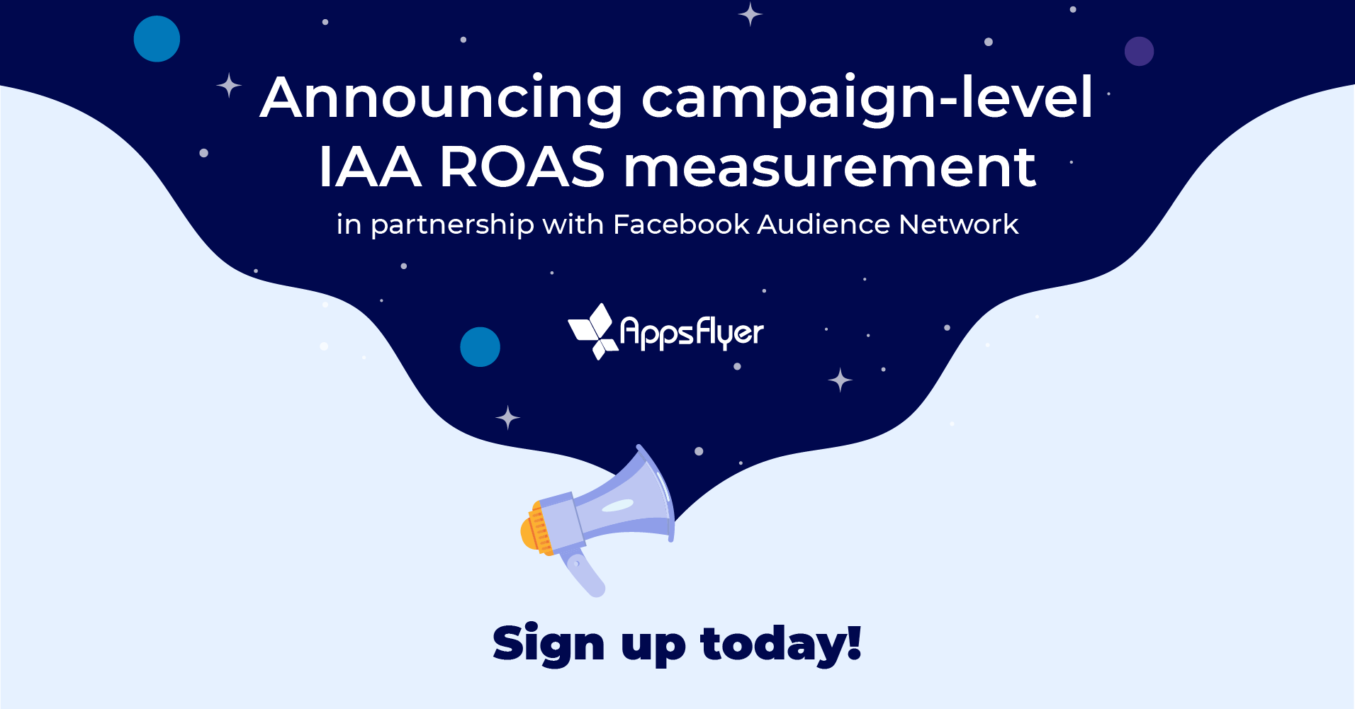 Campaign-level IAA ROAS measurement in partnership with Facebook Audience Network
