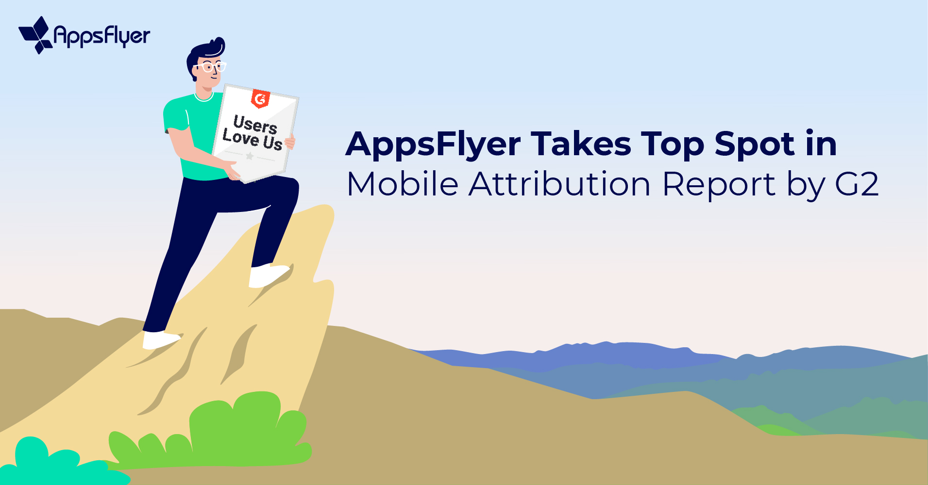 G2 Names AppsFlyer Mobile Attribution Leader