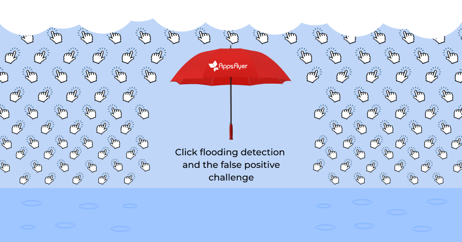 Click flooding detection and the false positive challenge