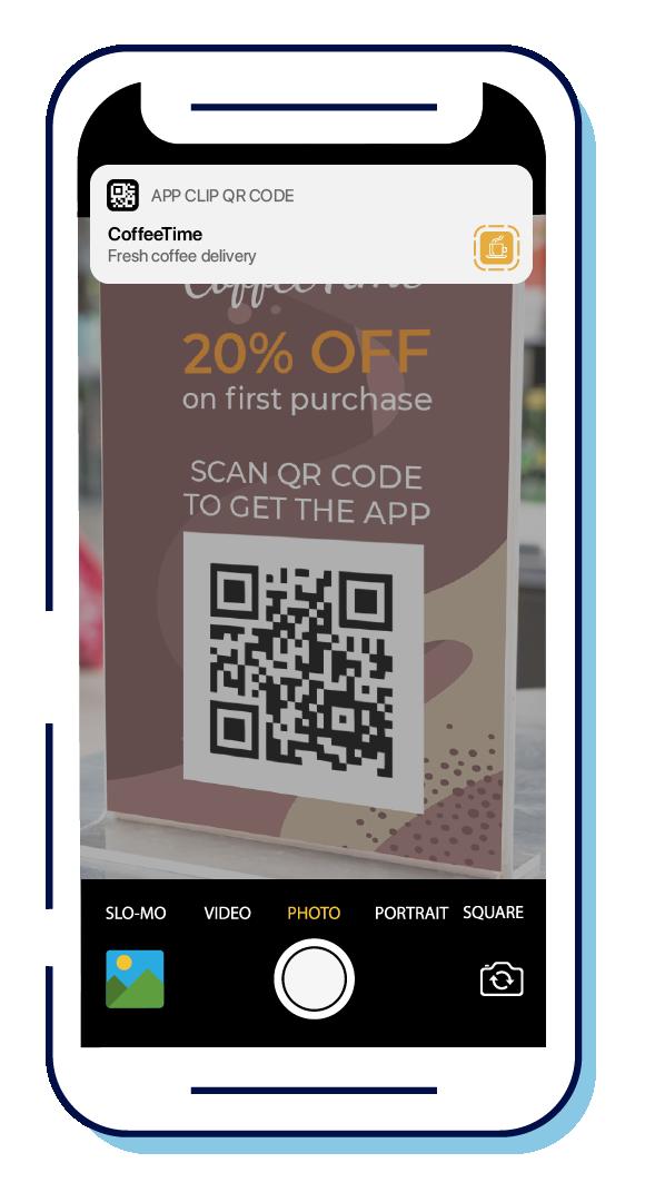 App Clip QR code