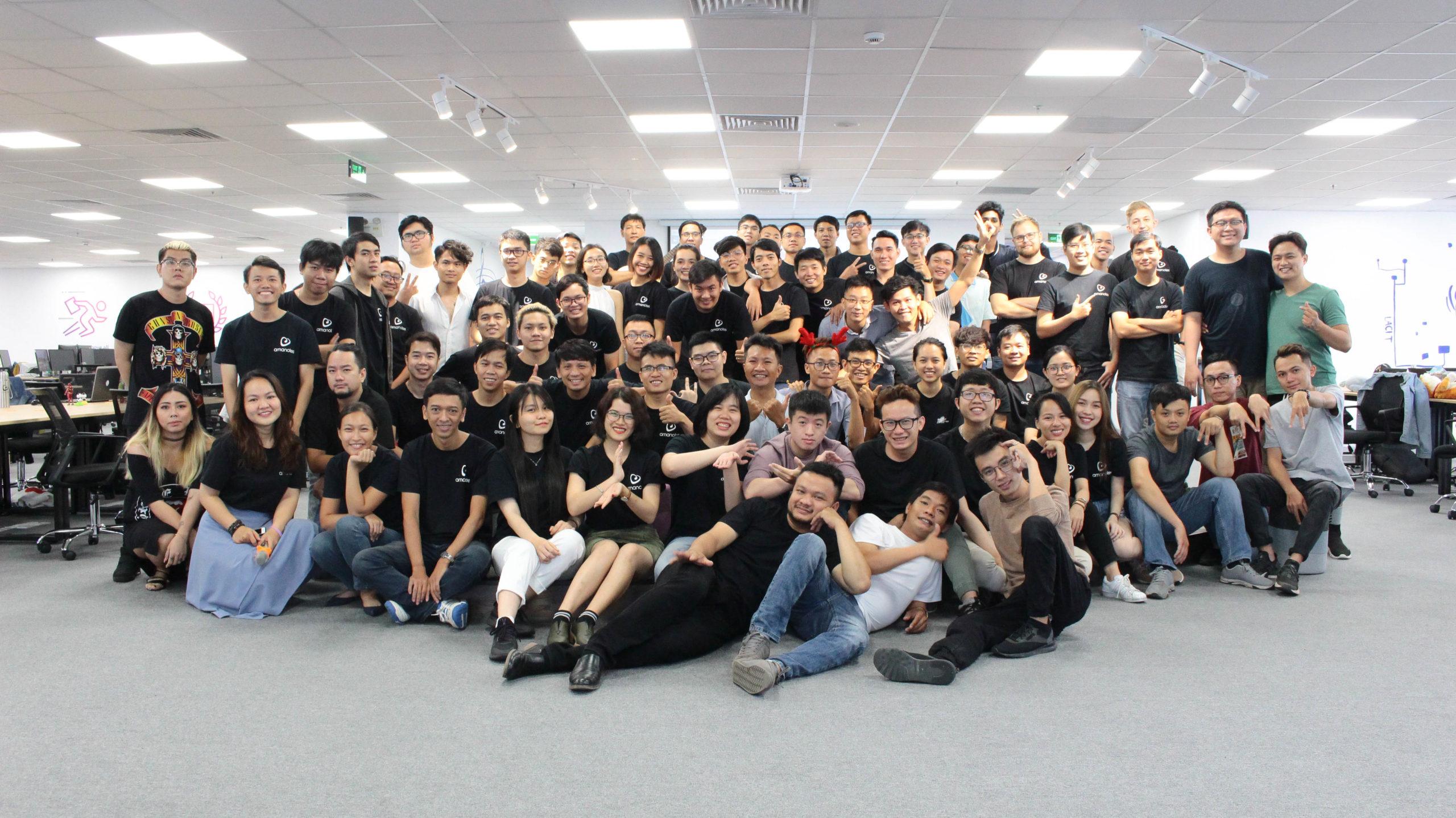 Amanotes team picture