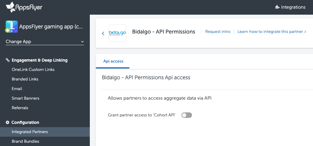 Bidalgo Campaign Integration