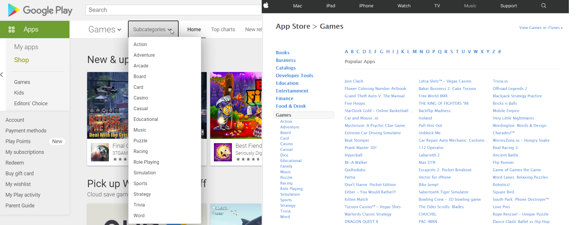 Why a new game classification in the app stores is in order
