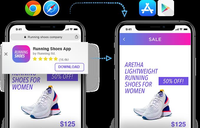 web-to-app flow