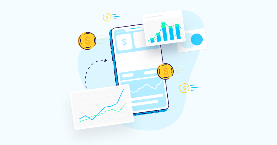 finance app marketing global trends benchmarks 2021