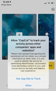 CapCut ATT prompt