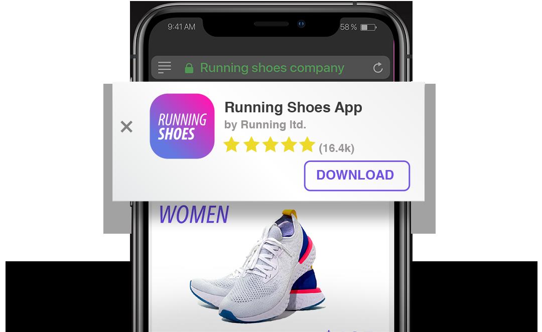 eCommerce de web a aplicación AppsFlyer