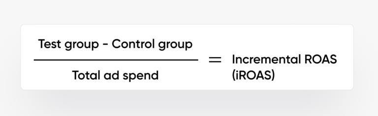 incrementalidad vs. optimización del ROAS