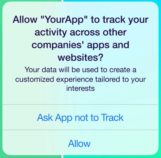 mensaje en iOS 14