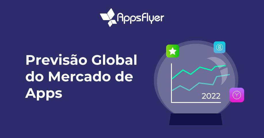 Previsão Global do Mercado de Apps