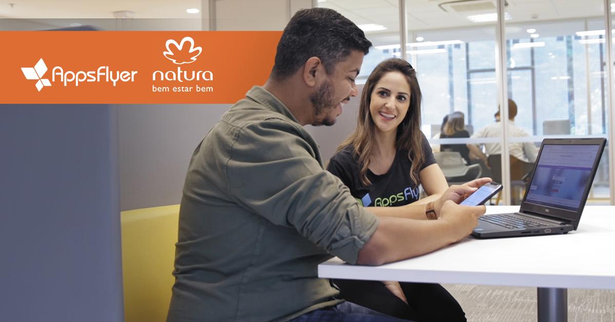 App Natura atinge suas metas com a ajuda do time da AppsFlyer