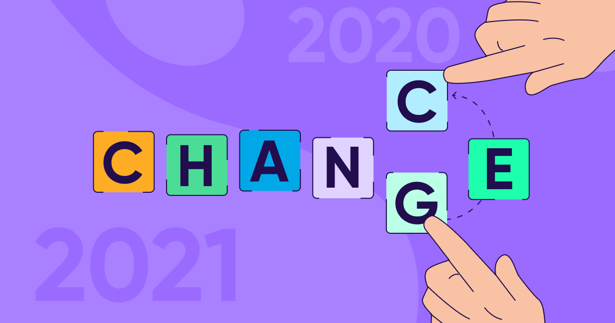 2020: an exercise in mastering change